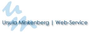 Ursula Minkenberg | Web- Service